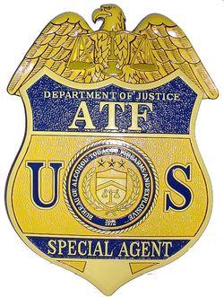 ATF-Badge-Plaque
