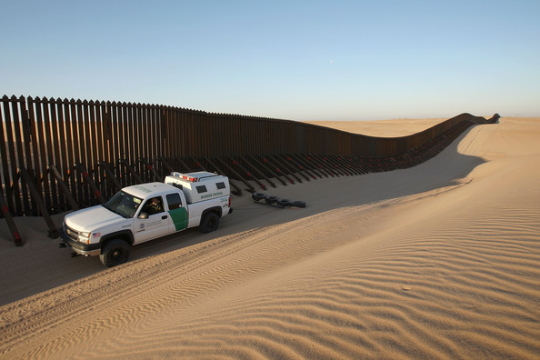 Image result for mexican border fence pictures